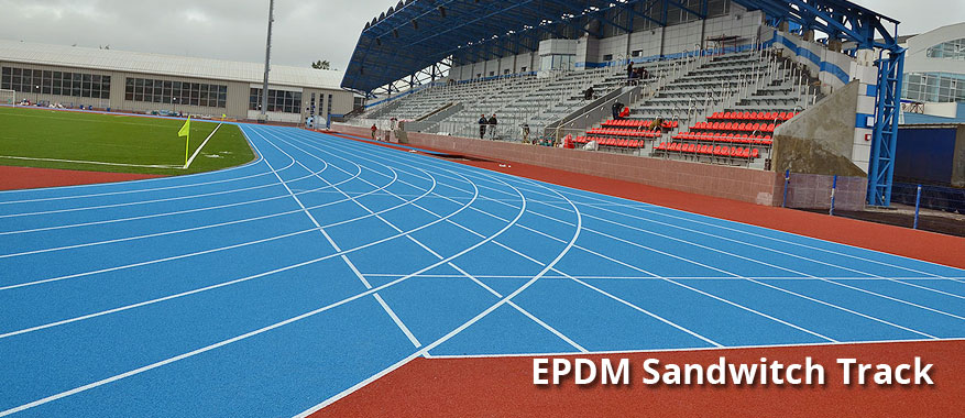 EPDM Sandwitch Track