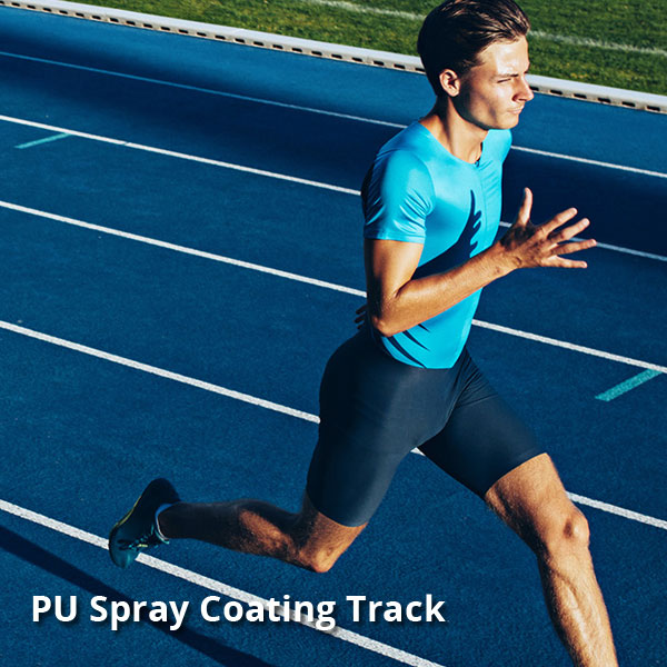 PU Spray Coat Track